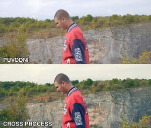 Cross process - LUTchan LUT sada