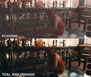 Teal and Orange - LUTchan 2 LUT sada